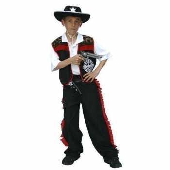 Foute cowboy party kleding voor jongens