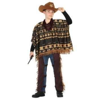 Foute cowboy/western pak/ party kleding voor jongens