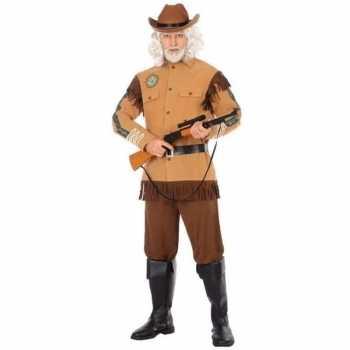 Foute cowboy/western party kleding wild bill voor heren