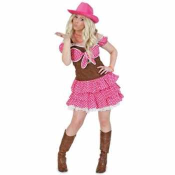 Foute cowgirl party kleding dolly