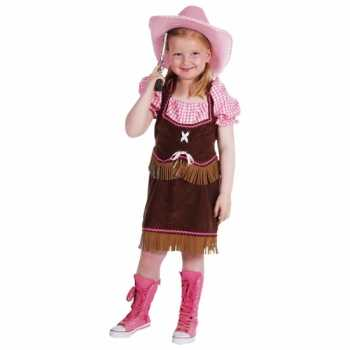 Foute cowgirl party kleding meiden