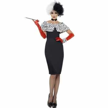 Foute cruella party kleding voor dames