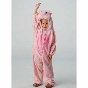 Foute dieren party kleding varken voor kids