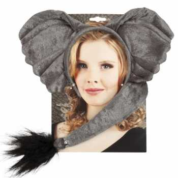 Foute dieren set elephant party