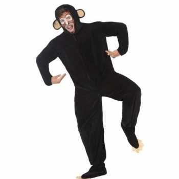 Foute dierenpak apen/chimpansee party kleding voor volwassenen