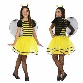 Foute dierenpak bij/bijen jurk/jurkje voor meisjes party