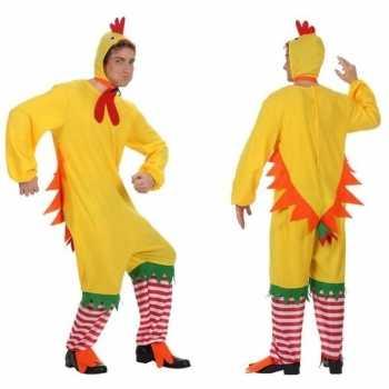 Foute dierenpak kip/haan/kuiken party kleding voor volwassenen