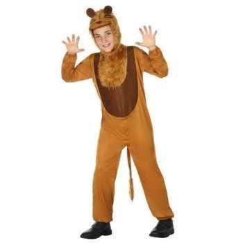 Foute dierenpak leeuw/leeuwen party kleding voor kinderen