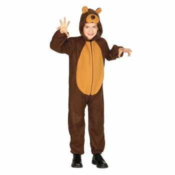 Foute dierenpak party kleding beer voor kinderen