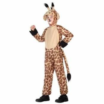 Foute dierenpak party kleding giraffe voor kinderen