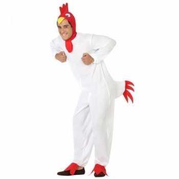 Foute dierenpak party kleding kip/haan voor volwassenen