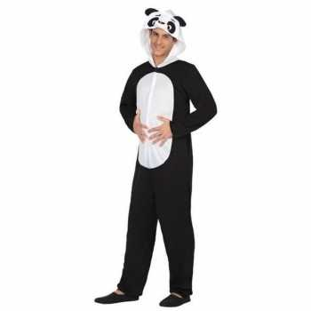 Foute dierenpak party kleding panda beer voor volwassenen