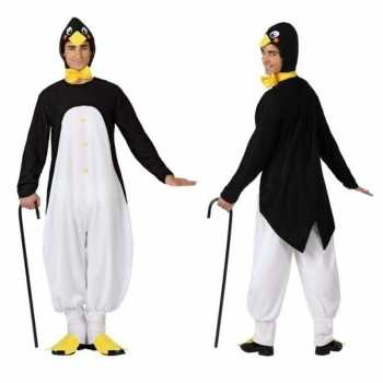 Foute dierenpak party kleding pinguin voor volwassenen