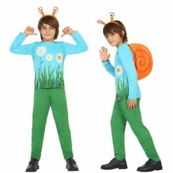 Foute dierenpak slak/slakken party kleding voor jongens