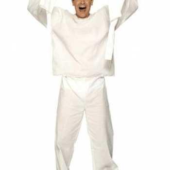 Foute dwangbuis patient party kleding