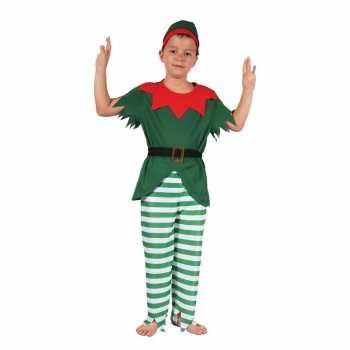 Foute elfen party kleding met hoedjevoor jongens