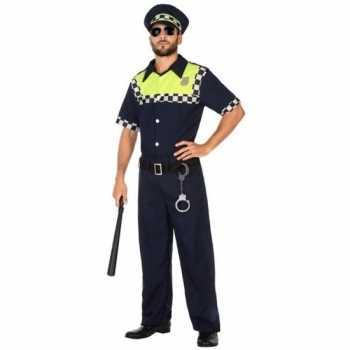 Foute engelse politie pak/party kleding voor volwassenen