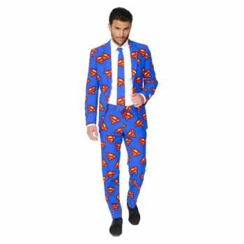 Foute feest party kleding superman print