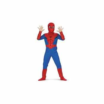 Foute feest spiderman party kleding
