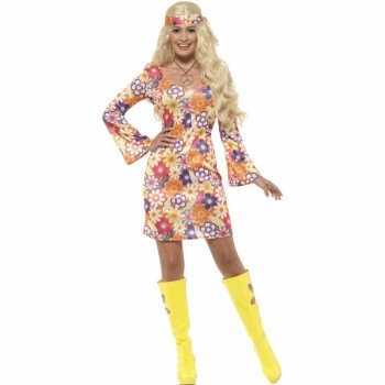 Foute flower power hippie dames sixties party kleding