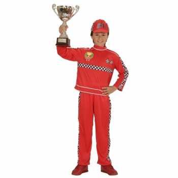 Foute formule 1 coureur party kleding voor kinderen