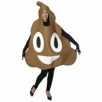 Foute fun drol emoticon party kleding volwassenen