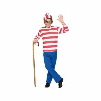 Foute fun wally kinderparty kleding