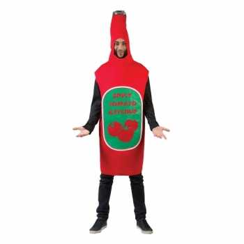 Foute funny party kleding pak ketchup