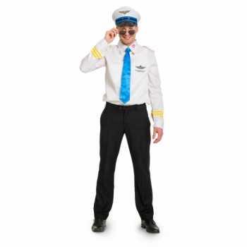 Foute funny piloot party kleding voor heren