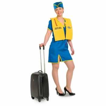 Foute funny stewardess party kleding voor dames