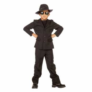 Foute gangster party kleding voor kids