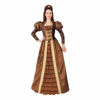 Foute geschiedenis middeleeuwse prinses damesparty kleding party