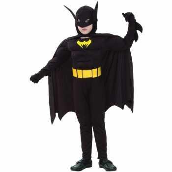 Foute gespierde vleermuis superheld kinder party kleding