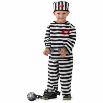 Foute gevangene party kleding voor jongens