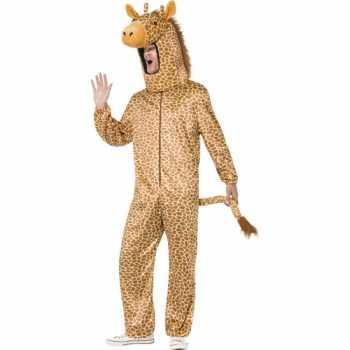Foute giraffe party kleding voor volwassenen