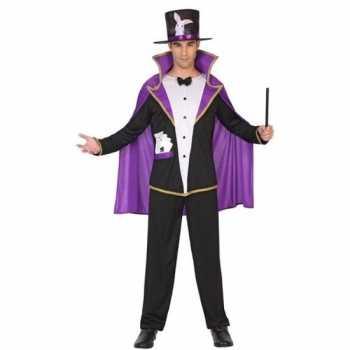 Foute goochelaar pak/party kleding voor volwassenen
