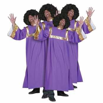 Foute gospel koor kleren dames en heren party
