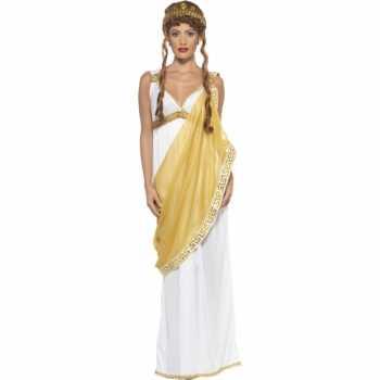 Foute goud met wit helena van troje party kleding