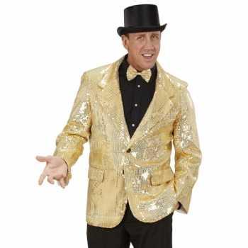 Foute gouden glitter blazer party