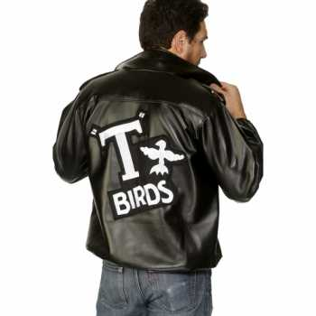Foute grease party kleding van de t birds