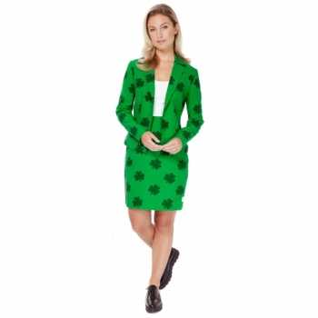 Foute groen dames party kleding st. patricks day