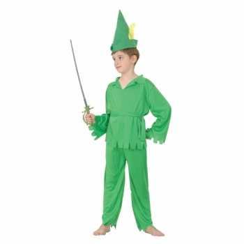 Foute groen elfjes party kleding voor jongens
