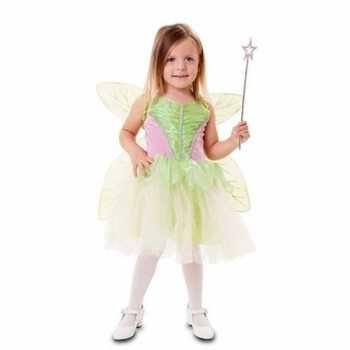 Foute groene fee party kleding voor meisjes