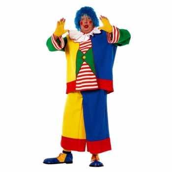 Foute grote maat clowns party kleding voor heren