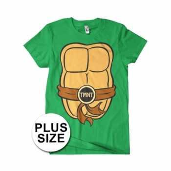 Foute grote maat heren ninja turtles party kleding
