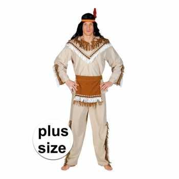 Foute grote maat indiaan adahy party kleding voor heren