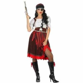 Foute grote maat piraat rachel pak/party kleding voor dames