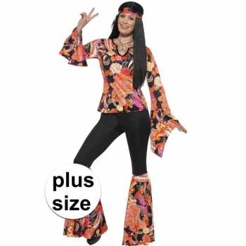 Foute grote maten hippie party kleding willow voor dames