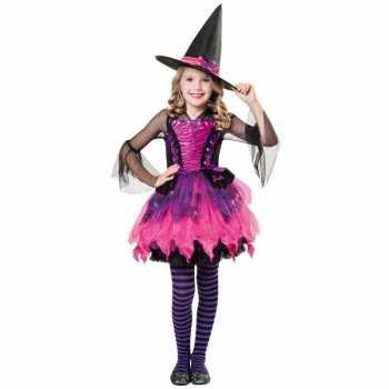 Foute halloween barbie heksen party kleding voor meisjes