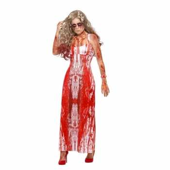 Foute halloween carrie party kleding voor dames